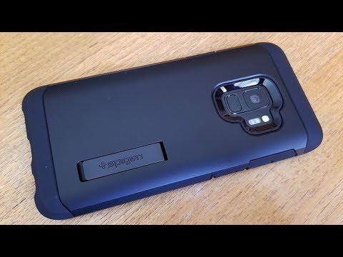 Spigen Tough Armor Galaxy S9 Case Review - Fliptroniks.com