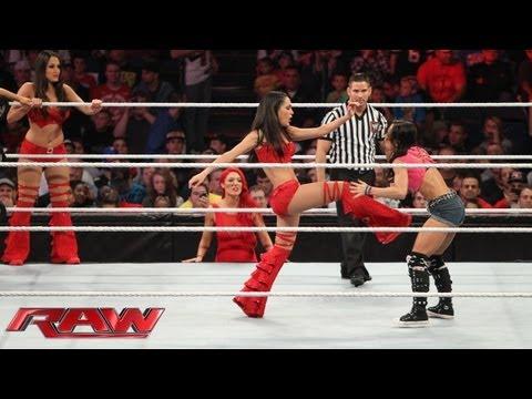 Xxx Mp4 Natalya Brie Bella Nikki Bella Cameron Amp Naomi Vs AJ Lee Aksana Layla Alicia Fox Amp Tamina Ra 3gp Sex