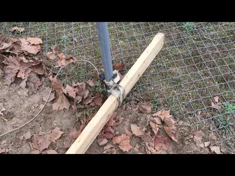 Easiest way to remove chain-link fence posts without special tools