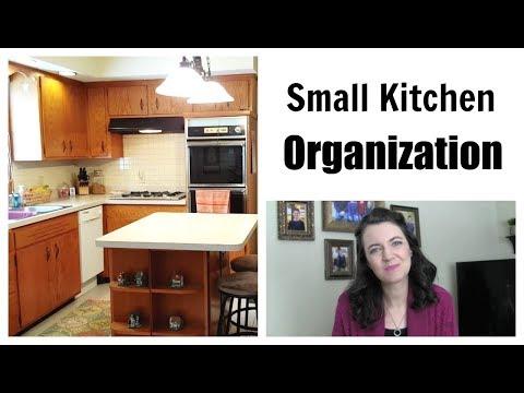Small Kitchen Organization | Simple Living | Minimalist