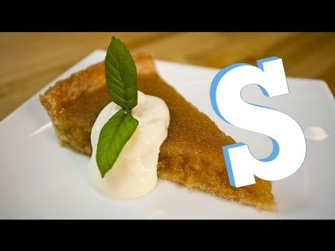 Traditional Treacle Tart Recipe - SORTED
