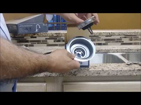 How To Install Sink Strainer In A Kitchen Sink - Step By Step - D.I.Y