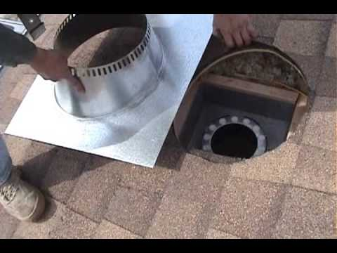 WOOD STOVE INSTALLATION START TO FIRE