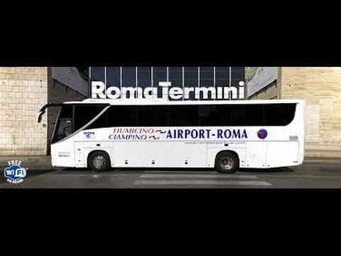 HOW TO GET TO ROME'S CITY CENTER FROM THE LEONARDO DA VINCI- FIUMICINO AIRPORT