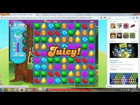 Candy Crush Soda Saga Cheat Unlimited Lives  Moves and Boosters Hack by Cheat Engine Trainer GamezHa