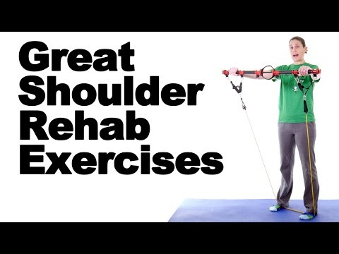 7 Great Shoulder Rehab Exercises - Ask Doctor Jo