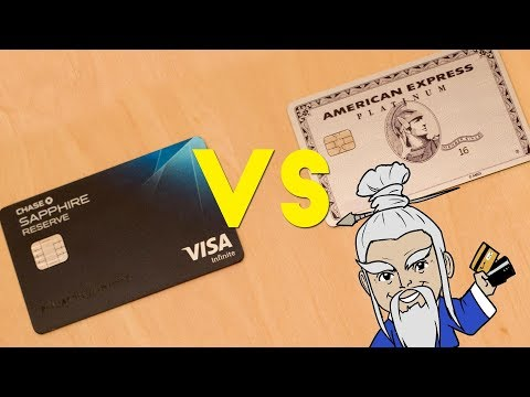 Sapphire Reserve VS Amex Platinum, Which is Better?