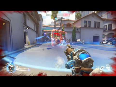 Overwatch - A Very Satisfying Mei Game