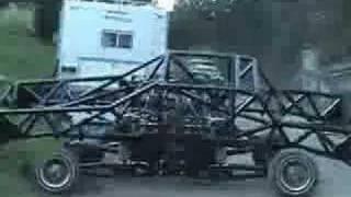 C wrecks, radical car dancer no body