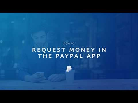 How to Request Money in the PayPal App