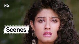 Beautiful Raveena Tandon Scenes from Ek Hi Raasta | Ajay Devgn | Best Hindi Action Movie