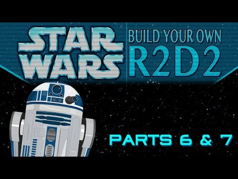 Build Your Own R2D2 Part 6 & 7: Blinking lights!