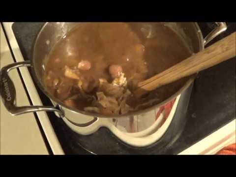 Gumbo ! How to make real Cajun Gumbo - Its all about the Roux