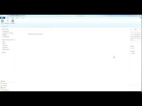 Windows Live Email Settings Tutorial