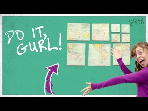 DIY Canvas Wall Art! - Do It, Gurl