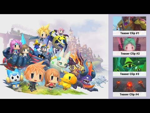 All The World of Final Fantasy Teaser Clips