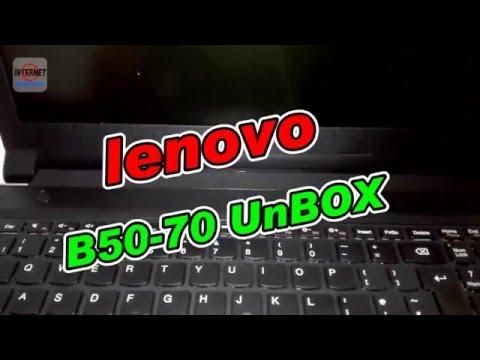 Lenovo B50-70 Unboxing