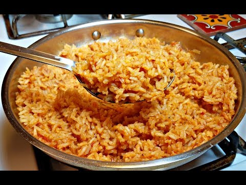 Easy Mexican Rice Recipe - How to Make Mexican Rice