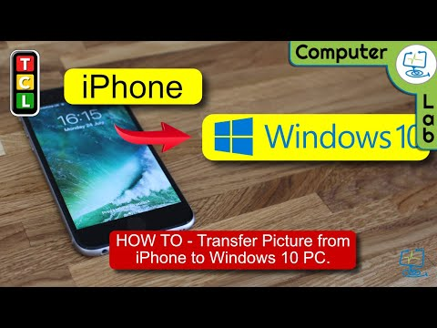 How To -  Transfer Photos from iPhone to Windows 10 PC