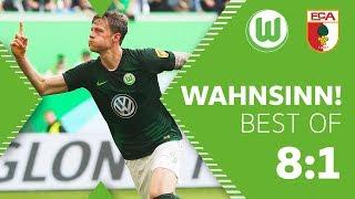 Wahnsinn gegen Augsburg, Wolfsburg international!  | Das Best of eines unvergesslichen Tages