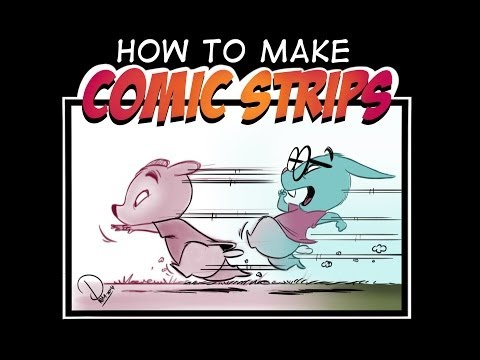 How to Make Comic Strips! 6 Hour Course