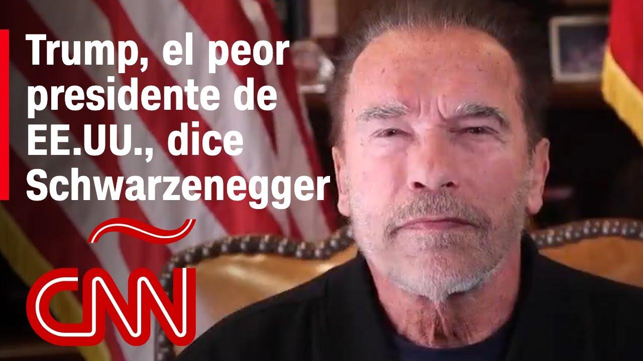 Schwarzenegger tras asalto al Capitolio: Trump pronto será tan irrelevante como un viejo tuit