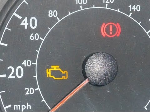 How to check and reset engine warning light