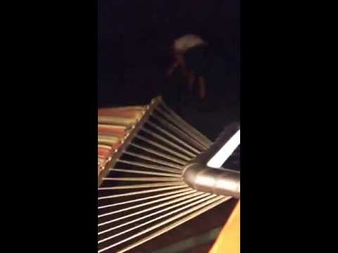 Flipping over a hammock