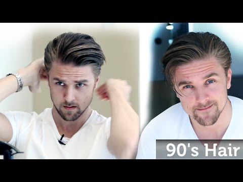 Men's 90's Hairstyle Inspiration - Wavy Bangs