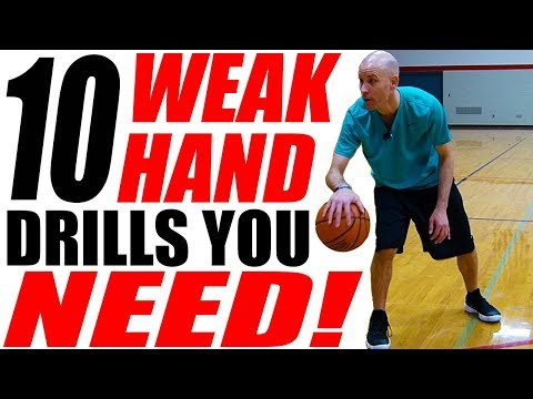10 Weak Hand Dribbling Drills You NEED! How To Get Handles In Basketball