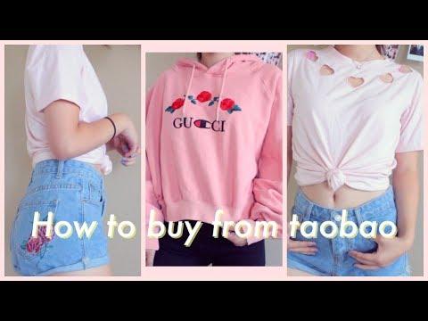 ✩ How to Buy From TaoBao + Mini TaoBao Clothing Haul ✩ | Jessie Ye 叶洁茜
