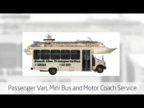 Passenger Van and Bus Charter Service - Orlando Cocoa Beach and Cape Canaveral