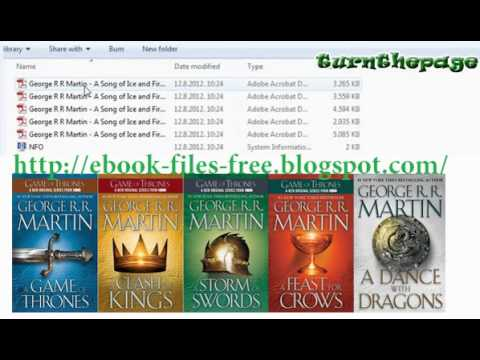 A Song of Ice and Fire by George R.R. Martin 1-5 E-book Free