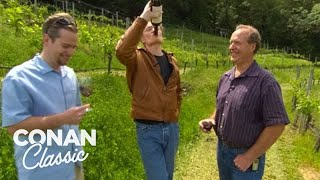 "Conan Goes Wine Tasting In Napa Valley - ""Late Night With Conan O'Brien"""