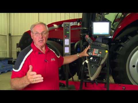 Case IH Tractors: Powershift Tractor Controls