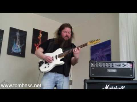 Tom Hess Guitar Playing And Music Contest – Janne Persson