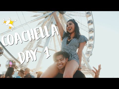 COACHELLA DAY 1! Getting My Hair Done w/ Camila Mendes! | Jeanine Amapola