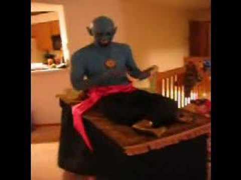 genie and the magic carpet