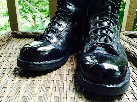How to Spit Shine Boots - Police, Military, Academy Polish