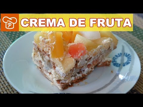 How to Make Crema De Fruta with 3 Ingredients Only!