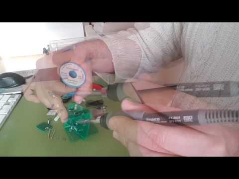 QRPGuys Morse Code Paddle Kit Build.