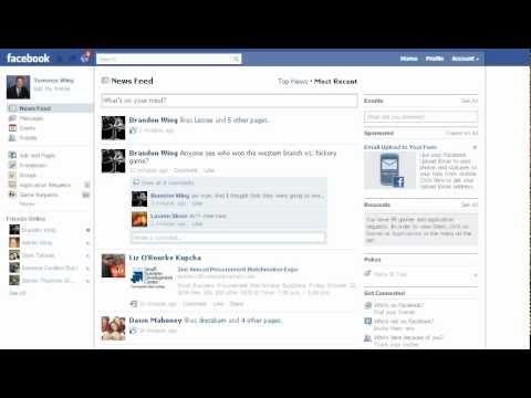 Facebook, Hiding Friend's Status Updates