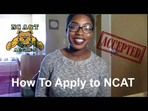 How To Apply to NC A&T | Incoming Freshmen
