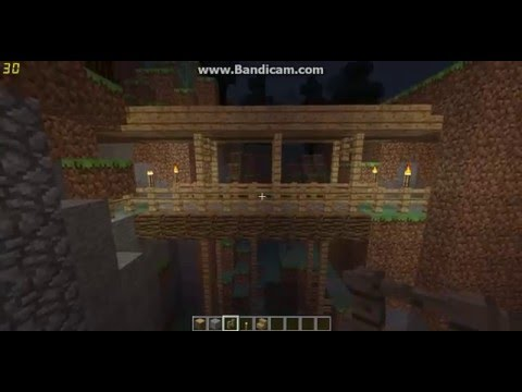 How to make a bridge in Minecraft (Railroad Bridge)