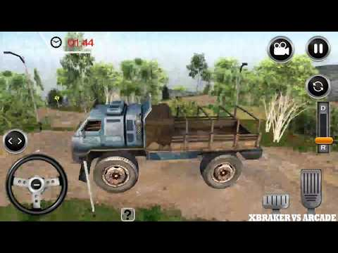 Offroad Trucker : Muddy Tracks Cargo Transport 3D | Offroad Truck Transport - Android GamePlay HD
