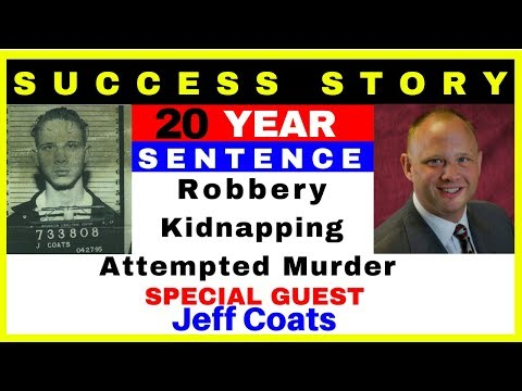 JEFF COATS - 20 year prison sentence for ROBBERY, KIDNAPPING & ATTEMPTED MURDER.