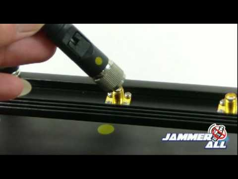cell phone jammer Able To Be Used In Car + 40 Meter Range