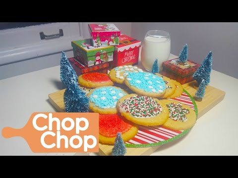 Sugar Cookies for Santa | Chop Chop
