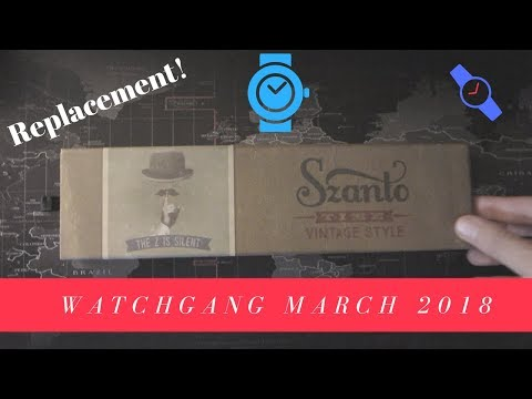 Watchgang Black Subcription Replacement for March 2018
