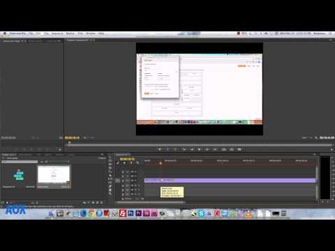 Adobe Premiere pro CC Tutorial: How to Cut video clips on Mac & Pc